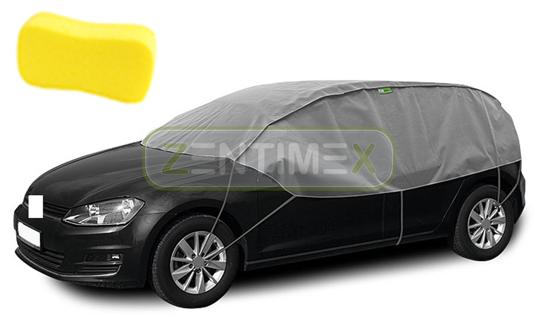 Atmungsaktive Halbgarage für  Mercedes GLC-Klasse Coupé C253 Geländewagen SUV 5